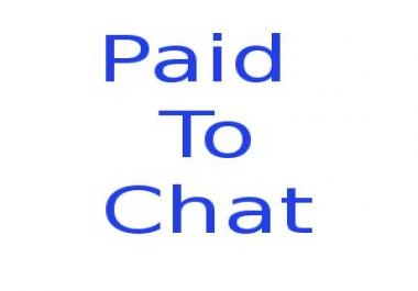 syndicate our Paid To Chat service to your site