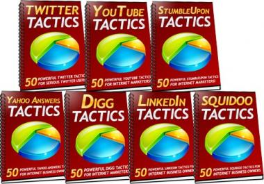 Give You 350 Powerful Social Media Tactics For More Traffic, Leads & Sales