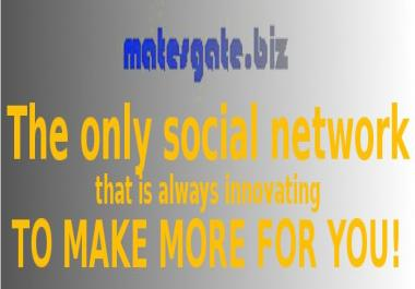 include a link to your site or gig in the MatesGate newsletter that goes out to over 350000 people