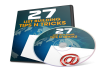 """give you an amazing """" 27 List Building Tips & Tricks"""" video course worth 100 dollars"""
