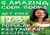 give you instant access to 5 of the hottest cook books on the internet containing over 123 recipes from leading chefs around the world.