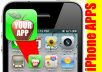 Create a Customized Icon & Background for your iPhone App for your business