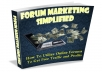 let you know how to utilise online forums to get most targeted traffic and profits