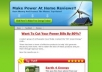 Provide A Nicely designed Review Blog In Home Energy Generation Niche With 3 reviews