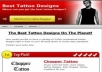 give you Tattoo niche products Review Blog with plugins and ready to make you money