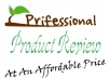 Weite A Professional Review For Your Website,Blog Or Product