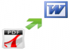 convert ms to pdf or convert pdf to ms