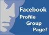 create 18 facebook accounts with profile pictures
