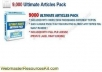 Offer you 9000 plr articles on more than 300 topics