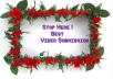 make a video submission for you on the most 30 high ranking VIDEO sharing sites