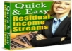 give you an 85 page e-book tutorial for creating a residual income