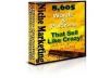 give you 8,605 niche marketing keywords and phrases that sell like crazy