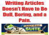 send you a software that will spin your article in a hurry and make it unique 30-60% which is enough for your SEO campaign.