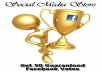 send minimal 50 guaranteed votes for your competition, contest, etc in facebook