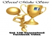 send minimal 120 guaranteed votes for your competition, contest, etc in facebook