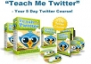 Offer you complete twitter course in videos