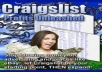 send you two of my best ebooks about how to use Craigslist to make money online