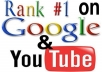 give u Unlimited Youtube Views and Highest Google Ranking For Life info
