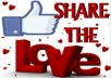 post your Gig or Website to 11,000 of my Loyal FB Facebook Fans and Write a Positive Review