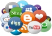 submit your site to 100 DOFOLLOW high quality social bookmarking sites
