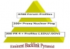 I will build eminent backlink pyramid with 5000 profiles links,links are all from different domains and about 90 percent are dofollow