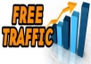 teach you how to get Free Unlimited Traffic