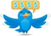 give u 15000+real TWITTER followers no need of password