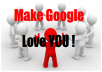 Make Google Love You by adding your site to 500+ social bookmarks