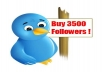 get you 3500 TWITTER Followers in Less Then 24 Hours without your password