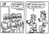 create a 3 to 4 panel COMIC STRIP using your idea