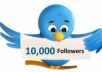 add close to 10,000 Real Twitter Followers you ur Twitter account in 3 days or less without requiring admin access