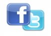 Give You 400 Real & Active Facebook Fans OR 1000 Real Twitter Followers