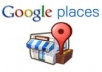 post 10 reviews for your local business/website on Google Places