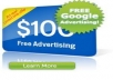 give you $150 Worth of 100% FREE GOOGLE ADWORD ADVERTISING plus a Google Adword super bonus