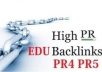 Offer you 15 PR5 Home page permanent backlinks