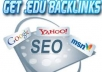 Offer you 45 high PR EDU &GOV backlinks