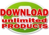 Show You How To Download Almost UNLIMITED Internet Products By Using Simple 9 Killer Tricks