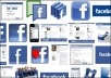 give you 1600 facebook fan page likes without admin access