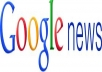 post a press release on a Google News approved site and get it approved in just minutes