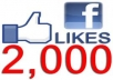 add 2000 facebook likes or fans to your fanpages or web site while not admin access and tweet your page