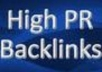 Create a thousand Backlinks From High PR Forums