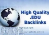 get 5 hundred EDU links for your net web site, edu links for any sort of url through blog comments