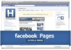 Be setting up a Facebook fanpage and post related content promoting your main web site or blog