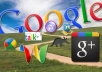 get you 1000 google +1 PLUS one votes to boost your high rank on google for