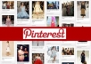 pinterest your website to blast SEO google from many accounts and promote to 20000 twitter followers