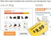 Convert your Blogger blog into powerful webstore