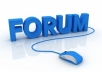 create 3000 forum posts backlinks manually