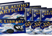 Gift You 25 Niche Audio Articles