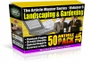 Gift You 50 Gardening & Landscaping Articles with Many Bonus