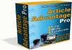Gift You Article Advantage Pro software with Many Bonus
